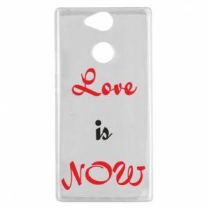 Etui na Sony Xperia XA2 Love is now