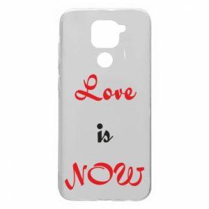Etui na Xiaomi Redmi Note 9/Redmi 10X Love is now