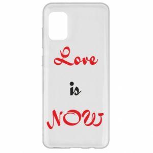 Etui na Samsung A31 Love is now