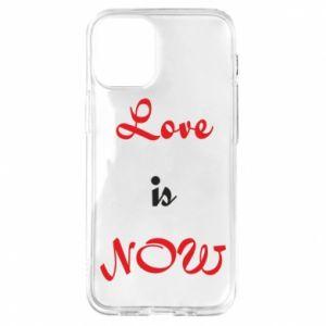 Etui na iPhone 12 Mini Love is now