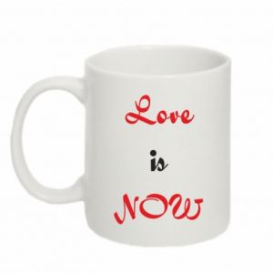 Kubek 330ml Love is now