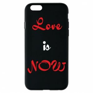 Etui na iPhone 6/6S Love is now