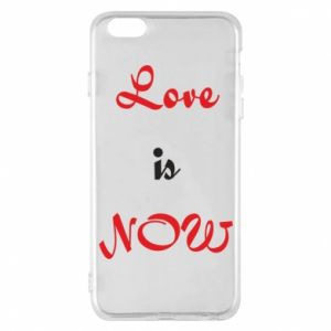 Etui na iPhone 6 Plus/6S Plus Love is now