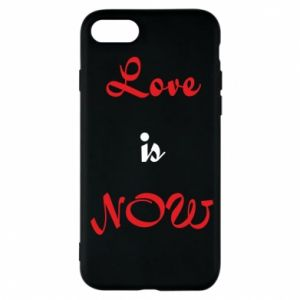 Etui na iPhone 7 Love is now