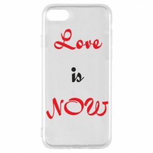 Etui na iPhone 8 Love is now