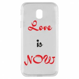 Phone case for Samsung J3 2017 Love is now