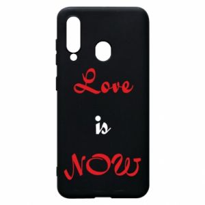 Phone case for Samsung A60 Love is now