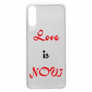 Phone case for Samsung A70 Love is now