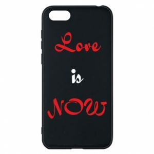 Phone case for Huawei Y5 2018 Love is now