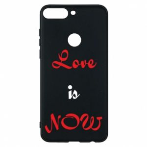 Phone case for Huawei Y7 Prime 2018 Love is now