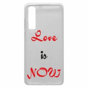 Etui na Huawei P30 Love is now