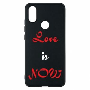 Phone case for Xiaomi Mi A2 Love is now