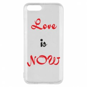 Phone case for Xiaomi Mi6 Love is now
