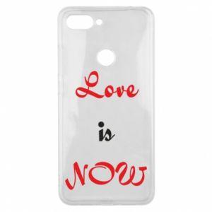 Phone case for Xiaomi Mi8 Lite Love is now