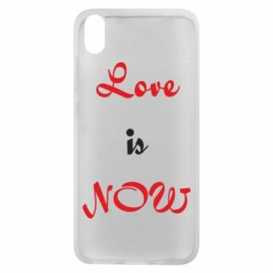 Phone case for Xiaomi Redmi 7A Love is now