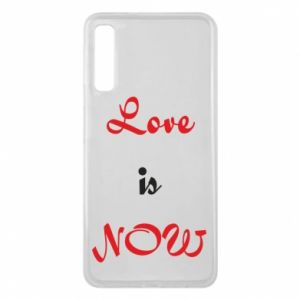 Phone case for Samsung A7 2018 Love is now