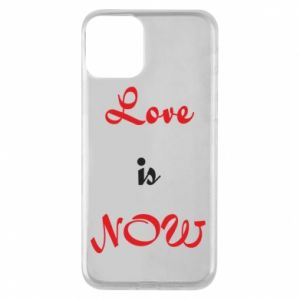 Etui na iPhone 11 Love is now