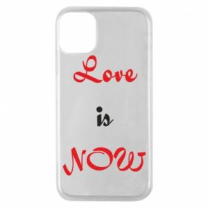 Etui na iPhone 11 Pro Love is now