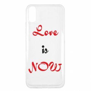 Etui na Xiaomi Redmi 9a Love is now