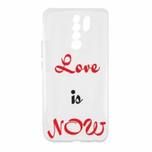 Etui na Xiaomi Redmi 9 Love is now