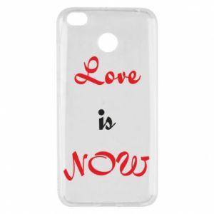 Etui na Xiaomi Redmi 4X Love is now