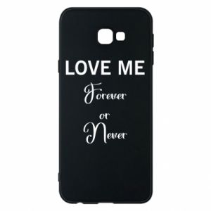 Etui na Samsung J4 Plus 2018 Love me forever or never