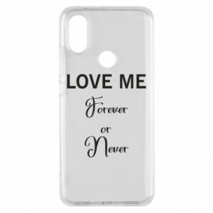 Etui na Xiaomi Mi A2 Love me forever or never