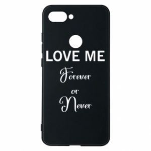 Etui na Xiaomi Mi8 Lite Love me forever or never