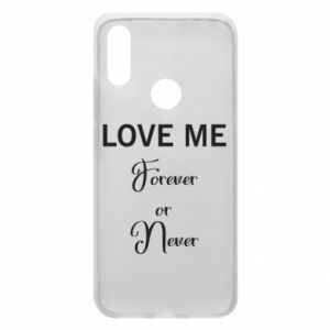 Etui na Xiaomi Redmi 7 Love me forever or never