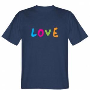 Koszulka Love, color