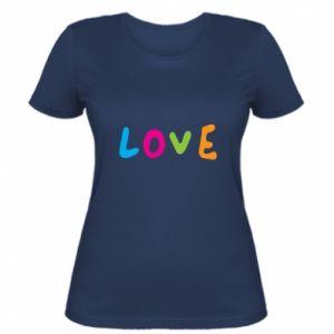 Damska koszulka Love, color