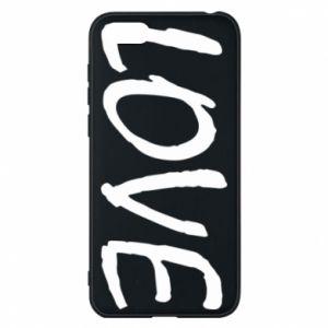 Etui na Huawei Y5 2018 Love napis