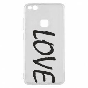 Etui na Huawei P10 Lite Love napis