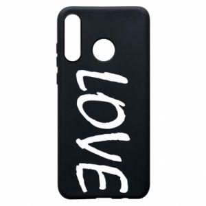 Etui na Huawei P30 Lite Love napis