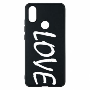 Etui na Xiaomi Mi A2 Love napis