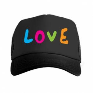 Czapka trucker Love, color