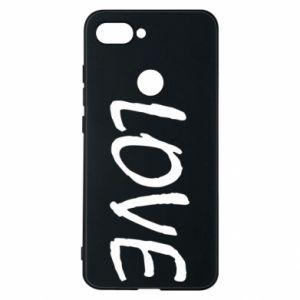 Etui na Xiaomi Mi8 Lite Love napis