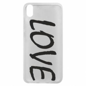 Etui na Xiaomi Redmi 7A Love napis