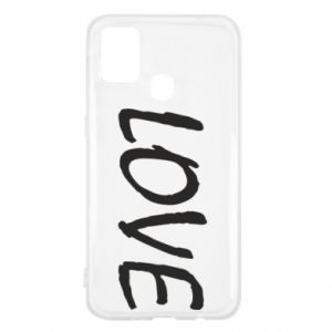 Etui na Samsung M31 Love napis