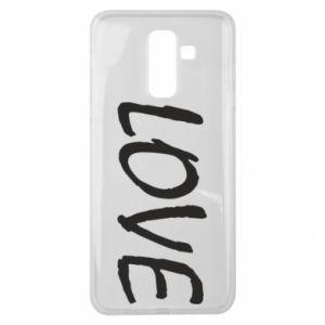 Etui na Samsung J8 2018 Love napis