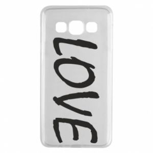 Etui na Samsung A3 2015 Love napis