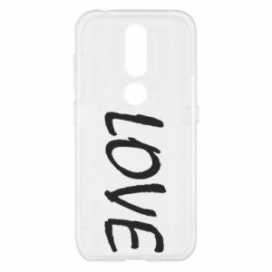Etui na Nokia 4.2 Love napis
