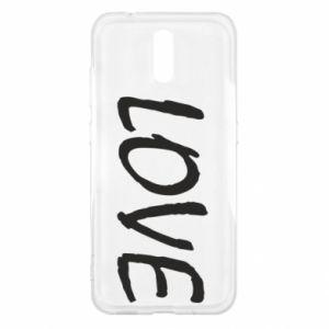 Etui na Nokia 2.3 Love napis