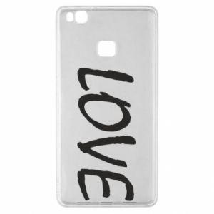 Etui na Huawei P9 Lite Love napis