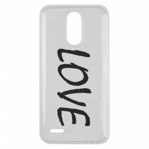 Etui na Lg K10 2017 Love napis