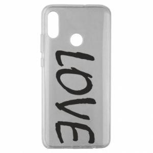 Etui na Huawei Honor 10 Lite Love napis