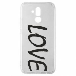 Etui na Huawei Mate 20 Lite Love napis
