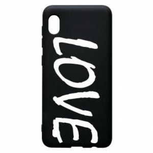Etui na Samsung A10 Love napis