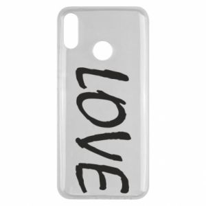 Etui na Huawei Y9 2019 Love napis