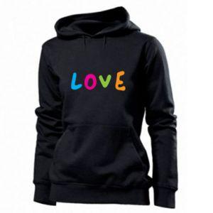 Damska bluza Love, color
